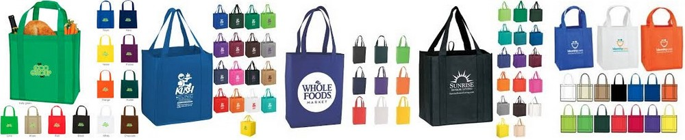 Custom Shopping Bags l Grocery Tote Bags